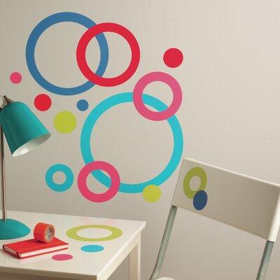 Wallies Murals & Cutouts Concentric Circles Big Wall Stickers