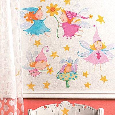 Wallies Murals & Cutouts Cute Fairies Wall Stickers