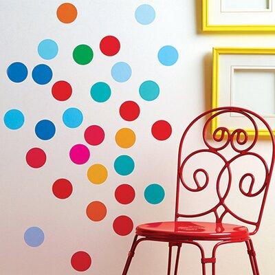 Wallies Murals & Cutouts Confetti Dots Wall Stickers