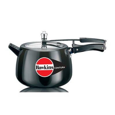 Contura Hard Anodised Pressure Cooker Size: 6.87 Quart