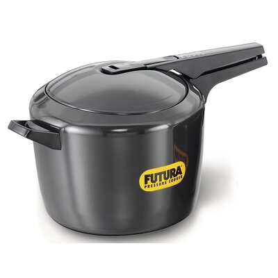 Hard Anodized Pressure Cooker Size: 9.5 Quart