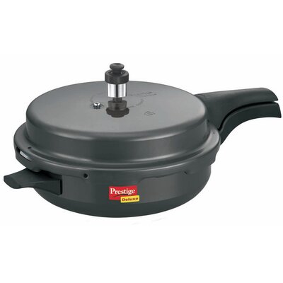 Hard Anodised Pan Pressure Cooker Size: Junior