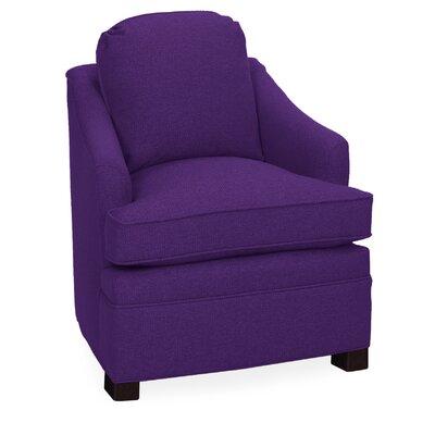 Quinn Armchair Upholstery: Eggplant