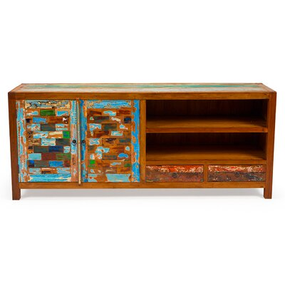 """Reel Deal Reclaimed Wood 71"""" TV Stand"""