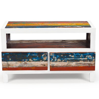 """Cruise Control Reclaimed Wood 40"""" TV Stand"""