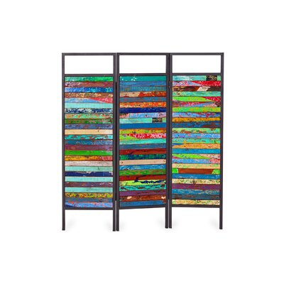 Sea-nery 3 Panel Room Divider