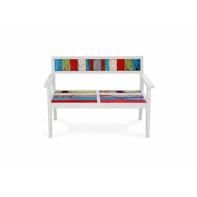 Bay Dreamer Reclaimed Wood Bench