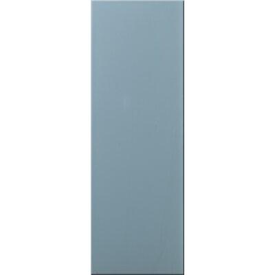 British Ceramic Tile Impact Storm 14cm x 100cm Glass Tile in Storm