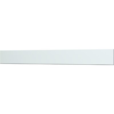 British Ceramic Tile Impact Glass Up Stand 60cm x 14cm in Whisper