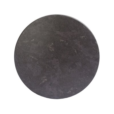 """SoHo Table Top Size: 24"""" W x 24"""" D, Color: Gray Slate"""