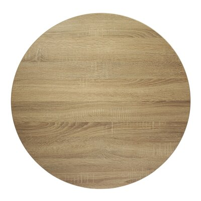 "Midtown Table Top Color: Sawmill Oak, Size: 30"" W x 30"" D"