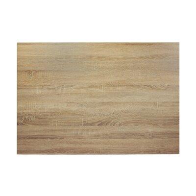 "Midtown Table Top Color: Sawmill Oak, Size: 42"" W x 30"" D"