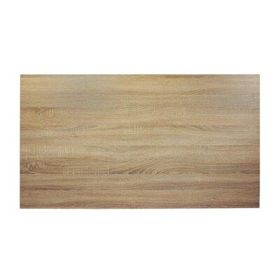 "Midtown Table Top Color: Sawmill Oak, Size: 60"" W x 30"" D"