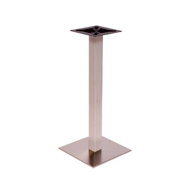 "Elite Bar Height Table Base Size: 18"" W x 18"" D"