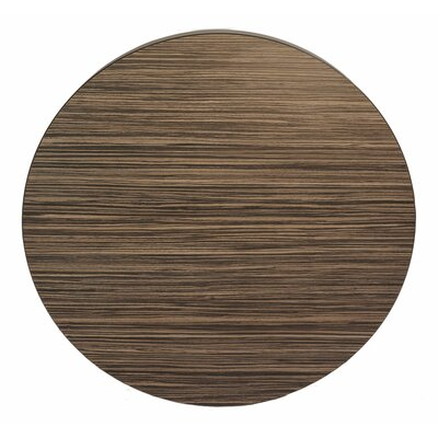 "Midtown Table Top Color: Safari, Size: 30"" W x 30"" D"