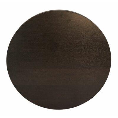 """Midtown Table Top Color: Espresso, Size: 30"""" W x 30"""" D"""