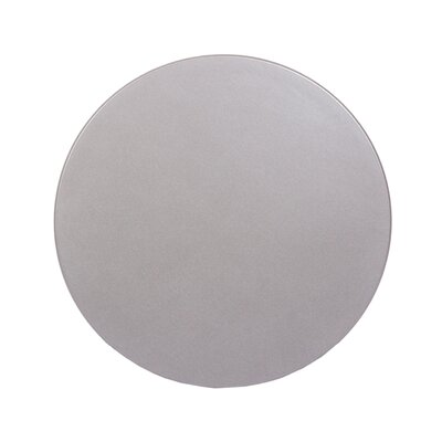 """SoHo Table Top Size: 24"""" W x 24"""" D, Color: Silver Mist"""