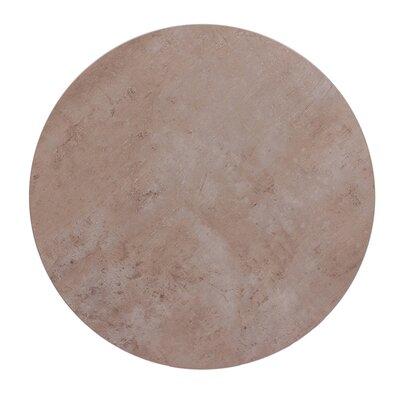 """Midtown Table Top Color: Concrete, Size: 36"""" W x 36"""" D"""