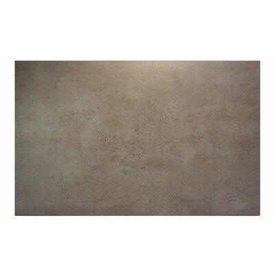 """Midtown Table Top Color: Concrete, Size: 48"""" W x 30"""" D"""