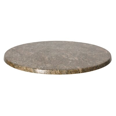 """SoHo Table Top Size: 24"""" W x 24"""" D, Color: Baltic Brown"""