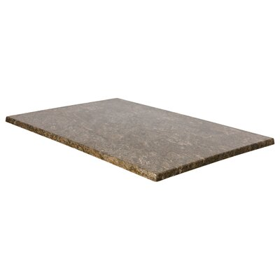 """SoHo Table Top Size: 32"""" W x 24"""" D, Color: Baltic Brown"""