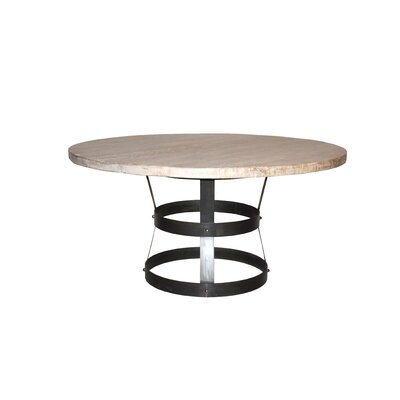 "Basket Dining Table Size: 30"" H x 60"" L x 60"" W"
