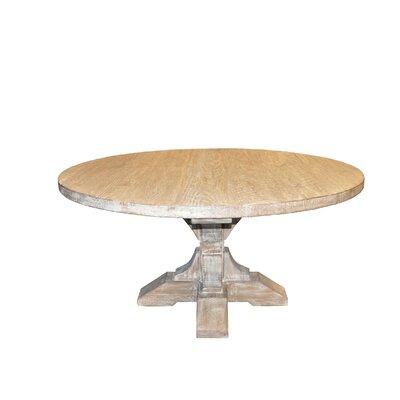 "Pedestal Dining Table Size: 30.5"" H x 60"" L x 60"" D"