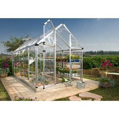 Snap & Grow 6 Ft. W x 16 Ft. D Polycarbonate Greenhouse