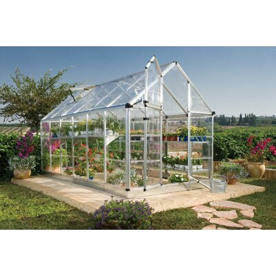 Snap & Grow 6 Ft. W x 12 Ft. D Polycarbonate Greenhouse
