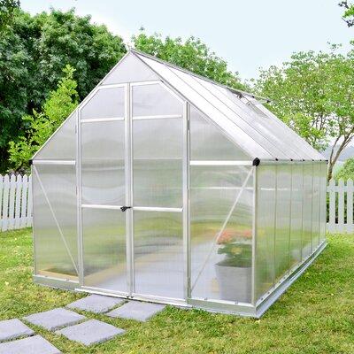 Essence 8 Ft. W x 12 Ft. D Greenhouse