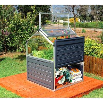 Plant Inn 4 Ft. W x 4 Ft. D Mini Greenhouse