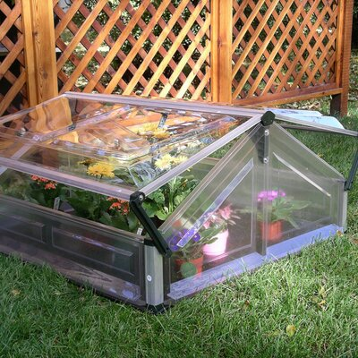 3.5 Ft. W x 3.5 Ft. D Cold-Frame Greenhouse