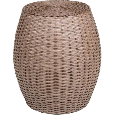 Traditional Barrel Accent Stool