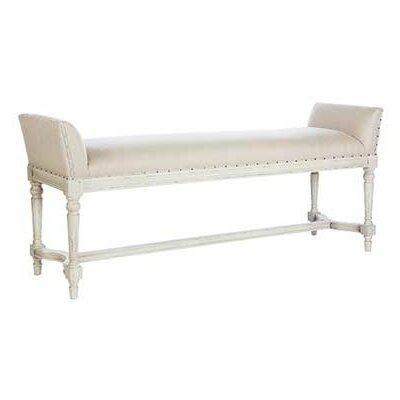 Simon Upholstered Bench Upholstery Color: Parker Gray