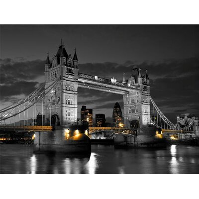 Arthouse Tower Bridge Photographic Print on Canvas