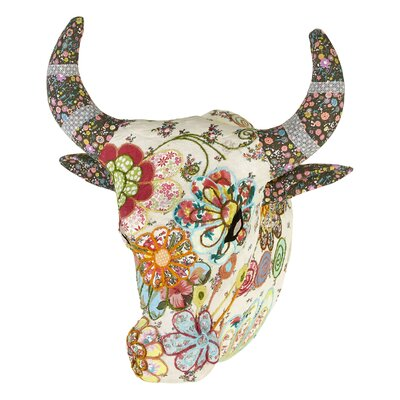 Arthouse Lochs and Lagoons Embroidered Angus Bust Wall Décor