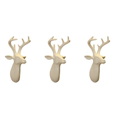 Arthouse Lochs and Lagoons Mini Stags Bust Wall Décor