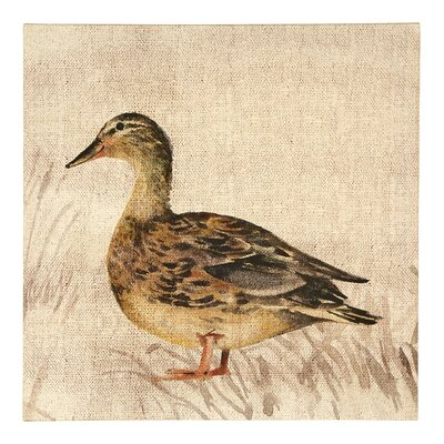 Arthouse Lochs and Lagoons Duck Art Print on Canvas