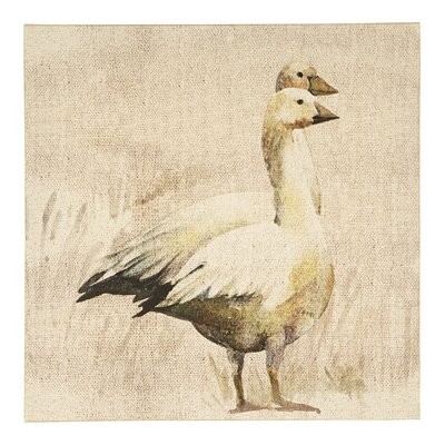 Arthouse Lochs and Lagoons Geese Art Print on Canvas