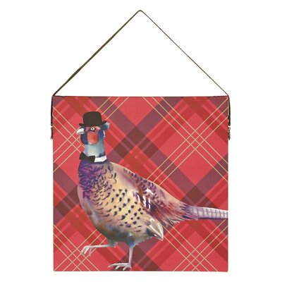 Arthouse Lochs and Lagoons Pheasant Graphic Art on Canvas