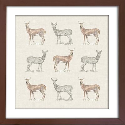 Arthouse Lochs and Lagoons Deer Framed Graphic Art
