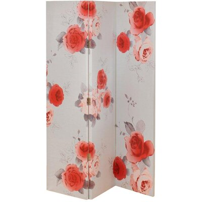 Arthouse 150cm x 120cm Nicky Rose 3 Panel Room Divider