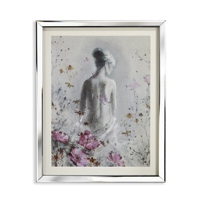 Arthouse Isabelle Mirror Framed Art Print