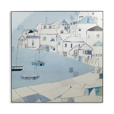 Arthouse Habour Side Laquer Box Art Print Wrapped on Canvas