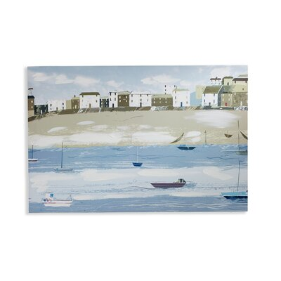 Arthouse Fishermans Tail Art Print Wrapped on Canvas