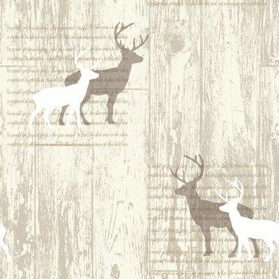 Arthouse Stag 10.05m L x 53cm W Roll Wallpaper