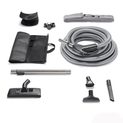 Garage Kit Hose and Tool Kit Fits All Central Vacuum Units