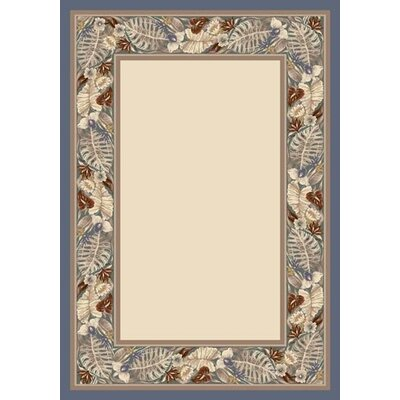 Milliken Innovationt Opal Lapis Tropical Fores Area Rug