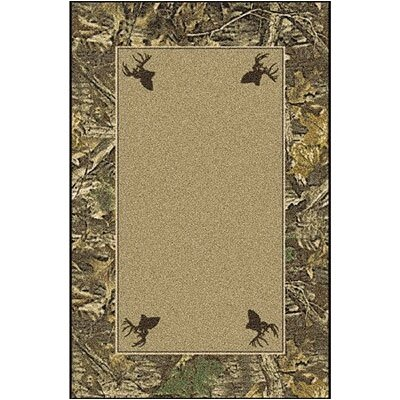 Milliken Realtree Timber Solid Center Area Rug