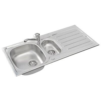Pyramis Vera 100cm x 50cm Kitchen Sink